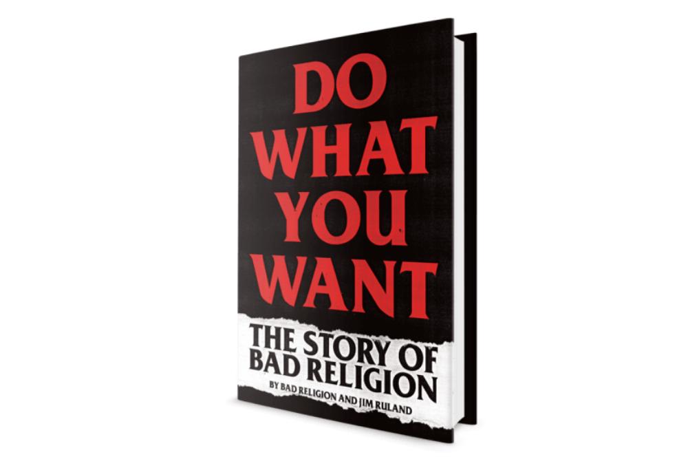 Bad Religion Haz lo que quieras Libro MAdrid