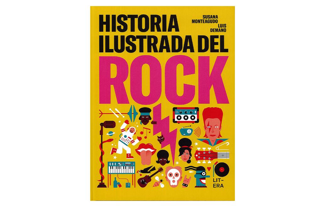 Historia ilustrada del Rock libro