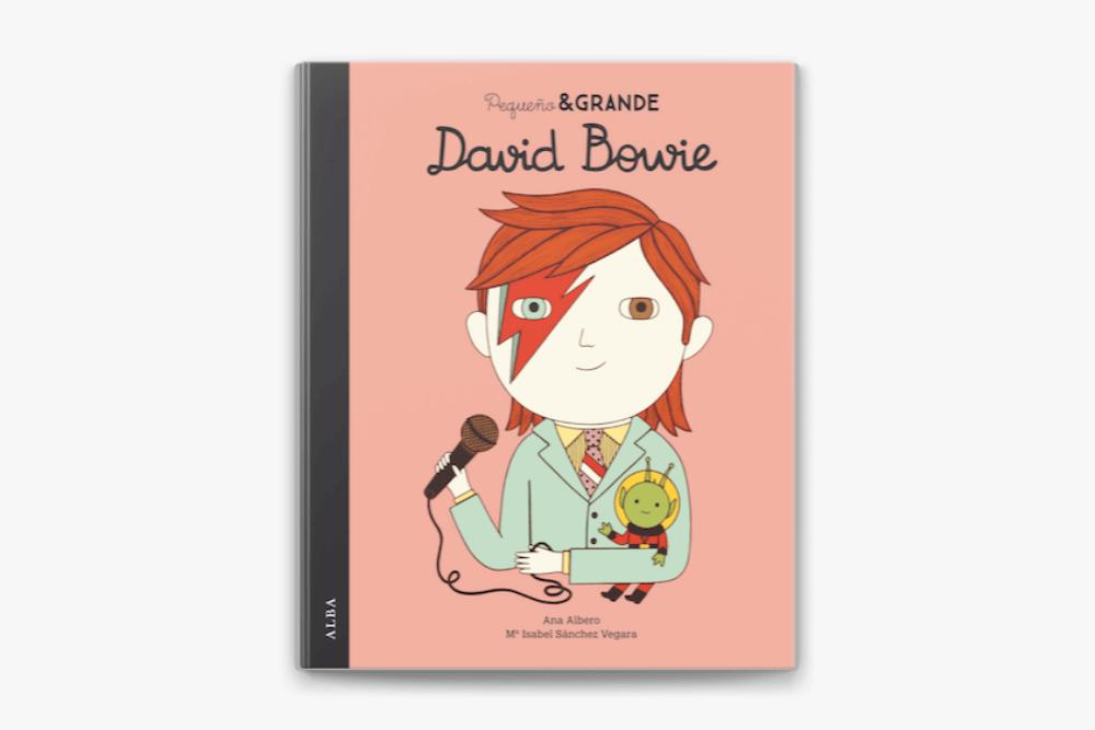 PEqueño y grande David Bowie Libro