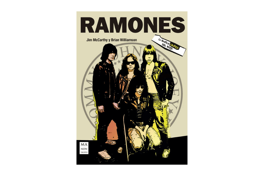 Ramones novela grafica rock